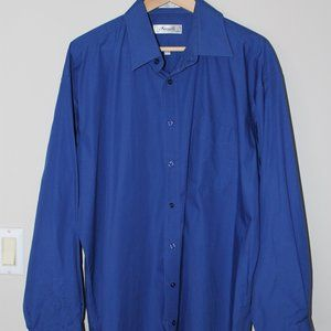 2 for 20$ Blue Button Down - Forsyth